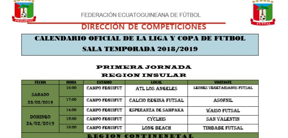 Calendario Futbol 2019.Feguifut Sitio Web Oficial De La Federacion Ecuatoguineana De Futbol